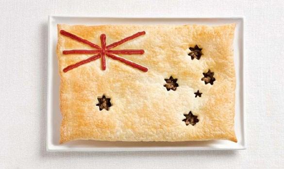 Вкусные флаги разных стран мира